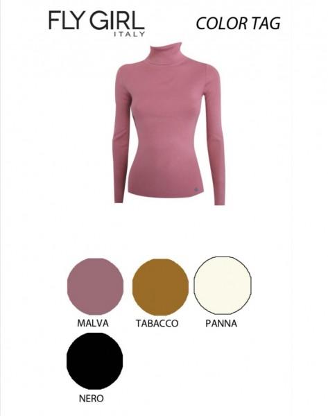 Flygirl Rollkragen Pullover in diversen Farben