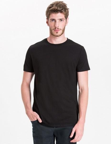 Rebello T-Shirt aus Bambus und Bio Baumwolle - Schwarz