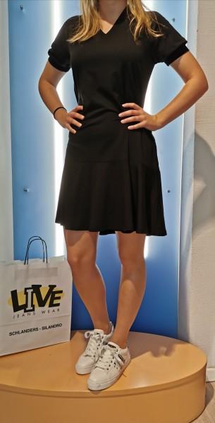 Cora Kleid mit V-Ausschnitt