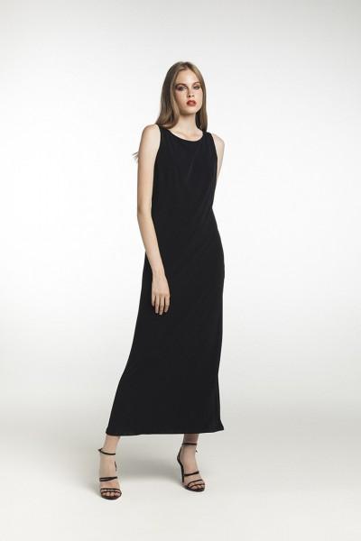 Flygirl langes Sommer Kleid mit Schlitz