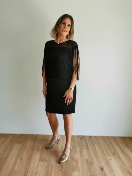 Exclusives Sommerkleid - schwarz