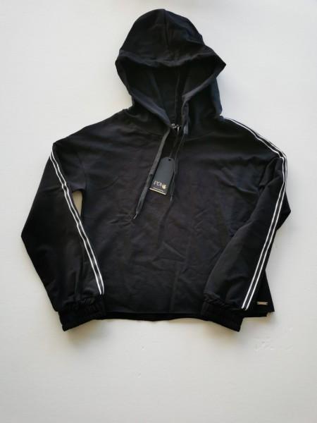 PDK Sweatshirt mit Kaputze schwarz