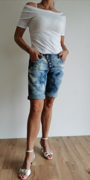 Buena Vista Short Malibu cloudy denim