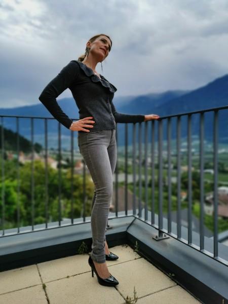 Buena Vista Jeans Italy skinny grau