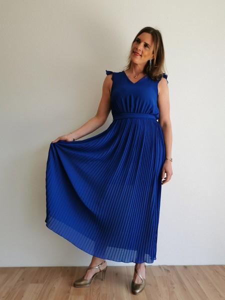 Langes Kleid Blisse` - royalblau