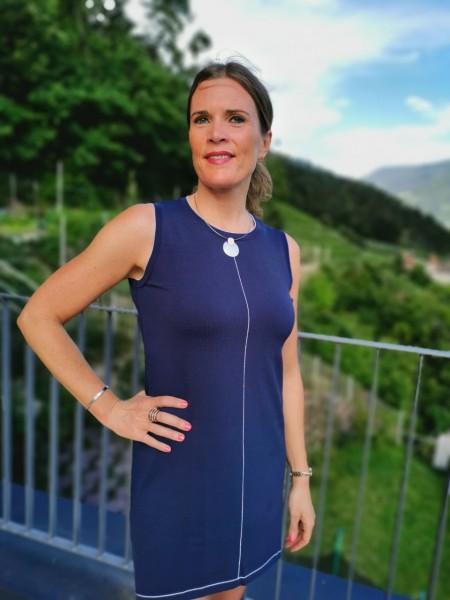 PDK kurzes anliegendes Sommer Strick Kleid