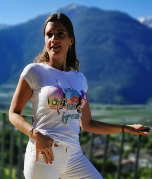 Flygirl T-Shirt fruit fresh